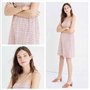 MADEWELL Silk Convertible Halter Dress